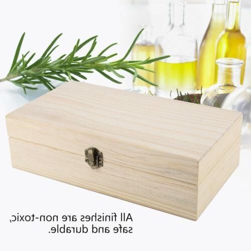 24 Storage Box Wooden Container