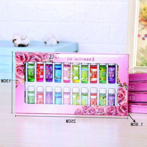 12 Mix Scents Kit Water-Soluble Essential 5ml