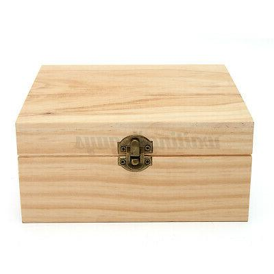 25 Slots Aromatherapy Oil Wooden Container