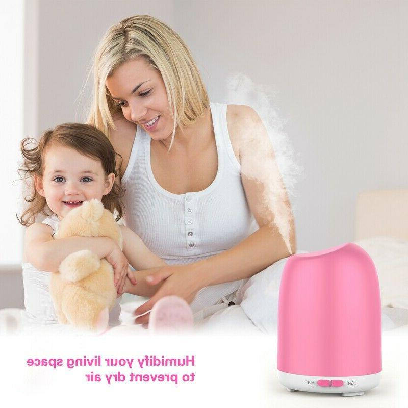500ml led rgb ultrasonic aroma essential oil