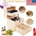 59 Slots Large Essential Oil Wooden Box Aromatherapy Oils St