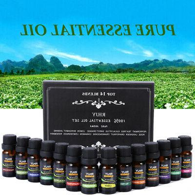 6/14 Essential Oil Set 100% Pure Natural Therapeutic US