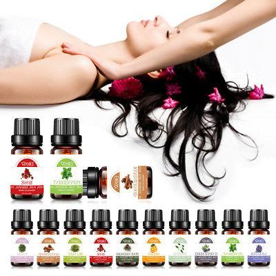 Aromatherapy Essential Natural Pure 10ml Oil 38+ Fragrances