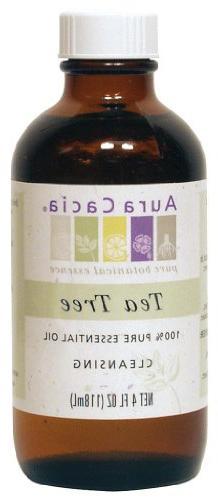 Aura Cacia Essential Oil, Cleansing Tea Tree, 4 fluid ounce