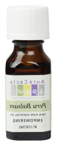 Aura Cacia Essential Oil, Empowering Peru Balsam, 0.5 fluid
