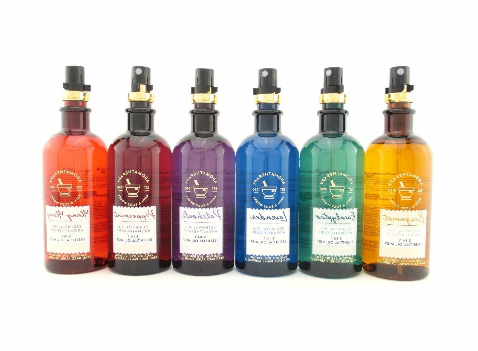 Bath Body Works Aromatherapy Essential Oil 5 in 1 Mist 5.3 o