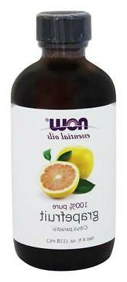 NOW Foods - 100% Pure Essential Oil Grapefruit - 4 oz.
