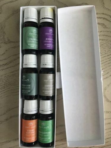 Plant Guru Essential Oil Variety Set Kit 6 Pack 100% Pure Th
