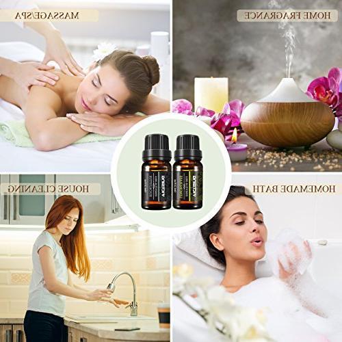 VicTsing Set, Top Pure Therapeutic Grade Essential Oil