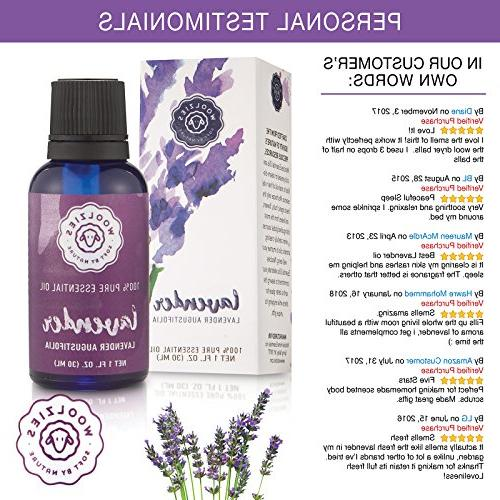 Woolzies Lavender – 100% Grade Diffuser Topical Improves Quality,