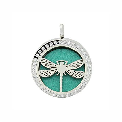 animal aromatherapy diffuser necklace stainless