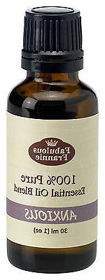 ANXIOUS 30ml 100% Pure Essential Oil Blend BUY 3 GET 1 FREE