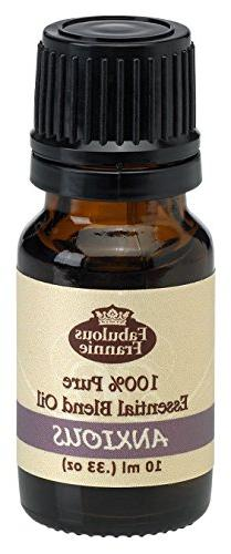 Anxious Pure Essential Oil Blend 10mL made with Lavender, Bi