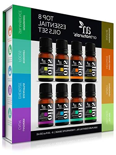 ArtNaturals Aromatherapy Essential Oils 100% of Peppermint, Therapeutic