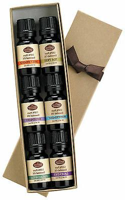 Essential Oil Gift Set - 100% Pure Therapeutic Grade - Great