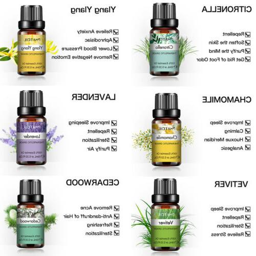 PHATOIL Oils 100% Pure Oils Yoga Fragrances