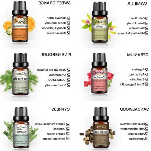 PHATOIL Essential 100% Oils Yoga Spa Fragrances Oils