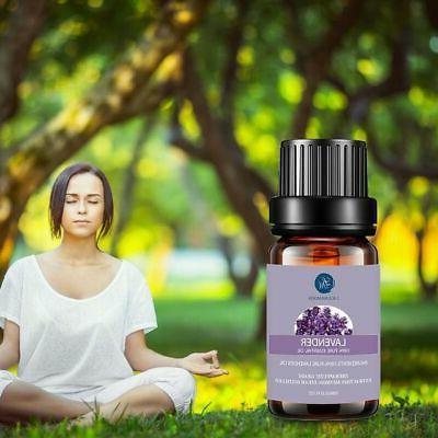 LAGUNAMOON™ Top Aromatherapy Essential Set 10ml With Travel
