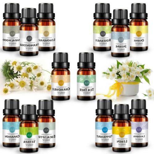 Aromatherapy Essential Oils Natural Pure Oil Fragrances
