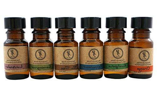Essential Oil Top 6 Essential Set 10ml & Therapeutic