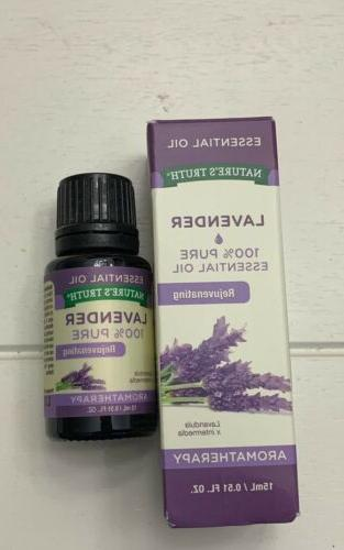 Lot of 10 Natures Truth Aromatherapy Oils Variety of Scents