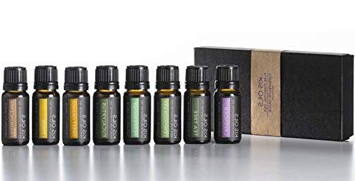 Aromatherapy Top 8 100% Pure Sampler oil gift set