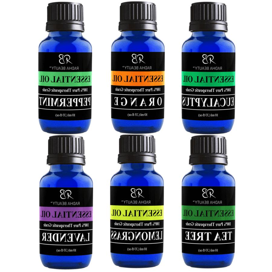 aromatherapy top 6 essential oils 100 percent