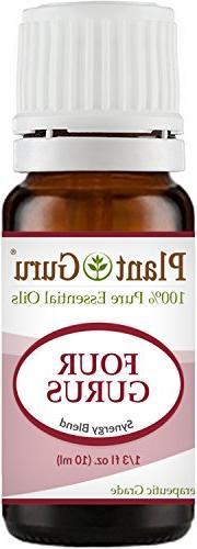 Four Gurus Synergy Blend Essential Oil 10 ml 100% Pure Natur