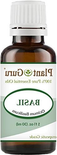 Basil Essential Oil 1 oz / 30 ml 100% Pure Undiluted Therape