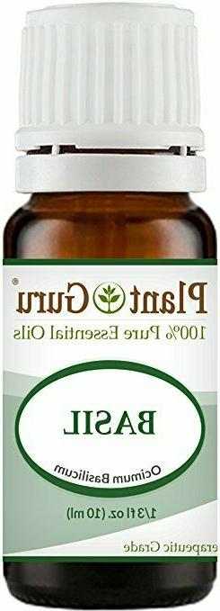 Basil Essential Oil 10 ml 100% Pure Undiluted Therapeutic Gr