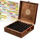 Beautiful Essential Oil Box - 62 Bottle With 2 Carry Handles