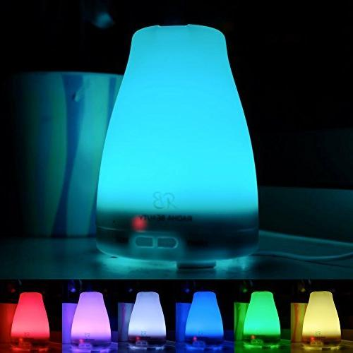 Radha Diffuser 7 colors 120 Cool Aroma for Lights, Shut-off and Adjustable mode