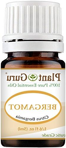 Bergamot Essential Oil 5 ml 100% Pure Undiluted Therapeutic