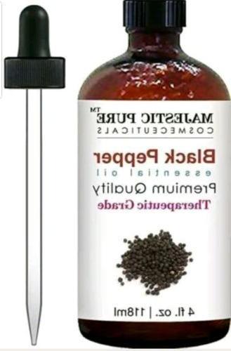 black pepper essential oil 4oz premium quality