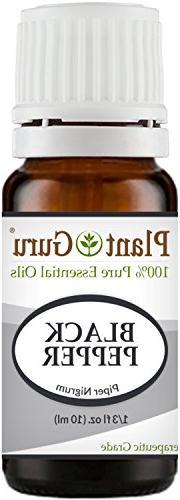 Black Pepper Essential Oil 10 ml Piper Nigrum 100% Pure Undi