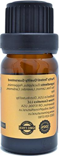 Breathe Oil 10ml - Pure Grade for Aromatherapy, Diffuser - Sinus Allergy,