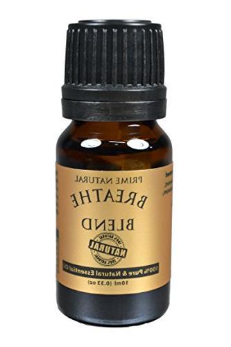 Breathe 10ml Pure Grade Diffuser - Allergy, Headache,