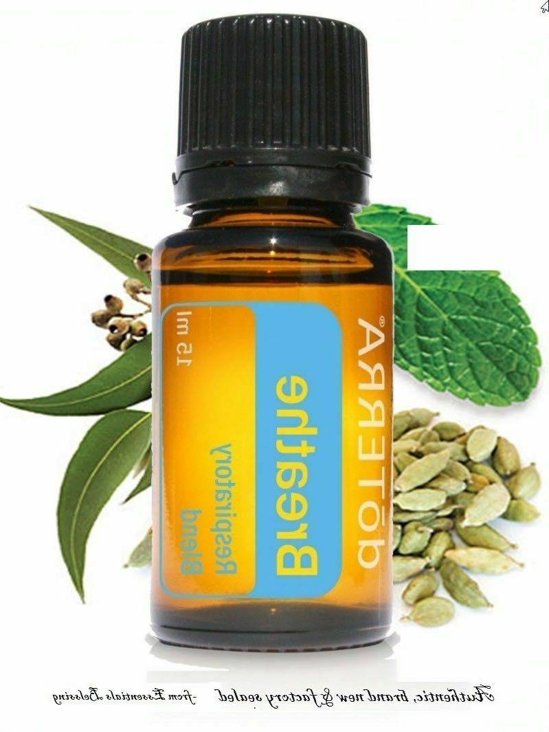doTERRA Breathe Essential Oil 15 ml New Sealed FREE SHIPPING