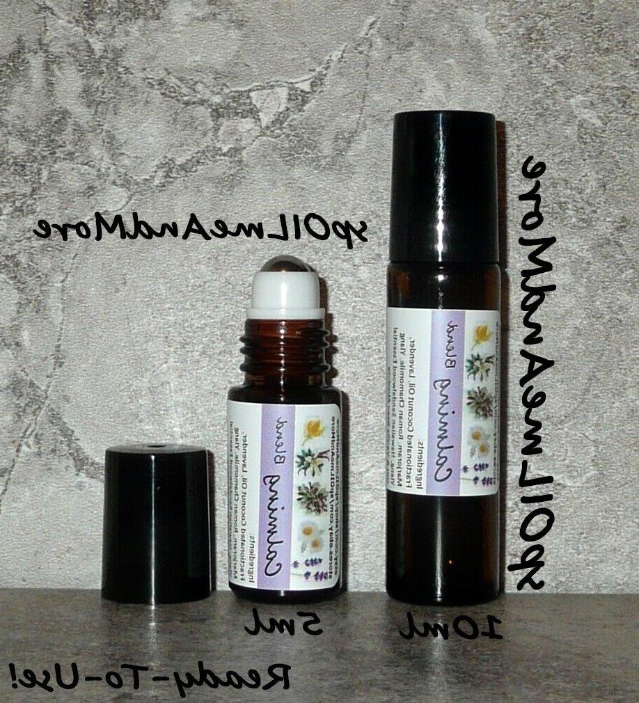 calming serenity essential oil roller blend
