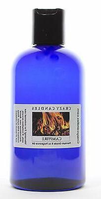 Campfire 8oz Premium Grade Scented Fragrance Oil Crazy Candl