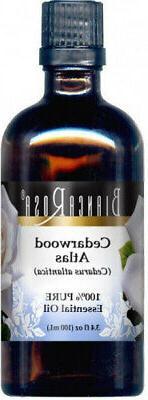Cedarwood Atlas Pure Essential Oil . Bianca Rosa