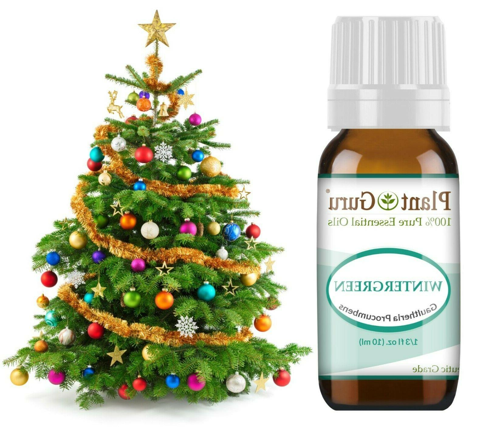 Christmas Holiday Essential Oil Set Pure Fir