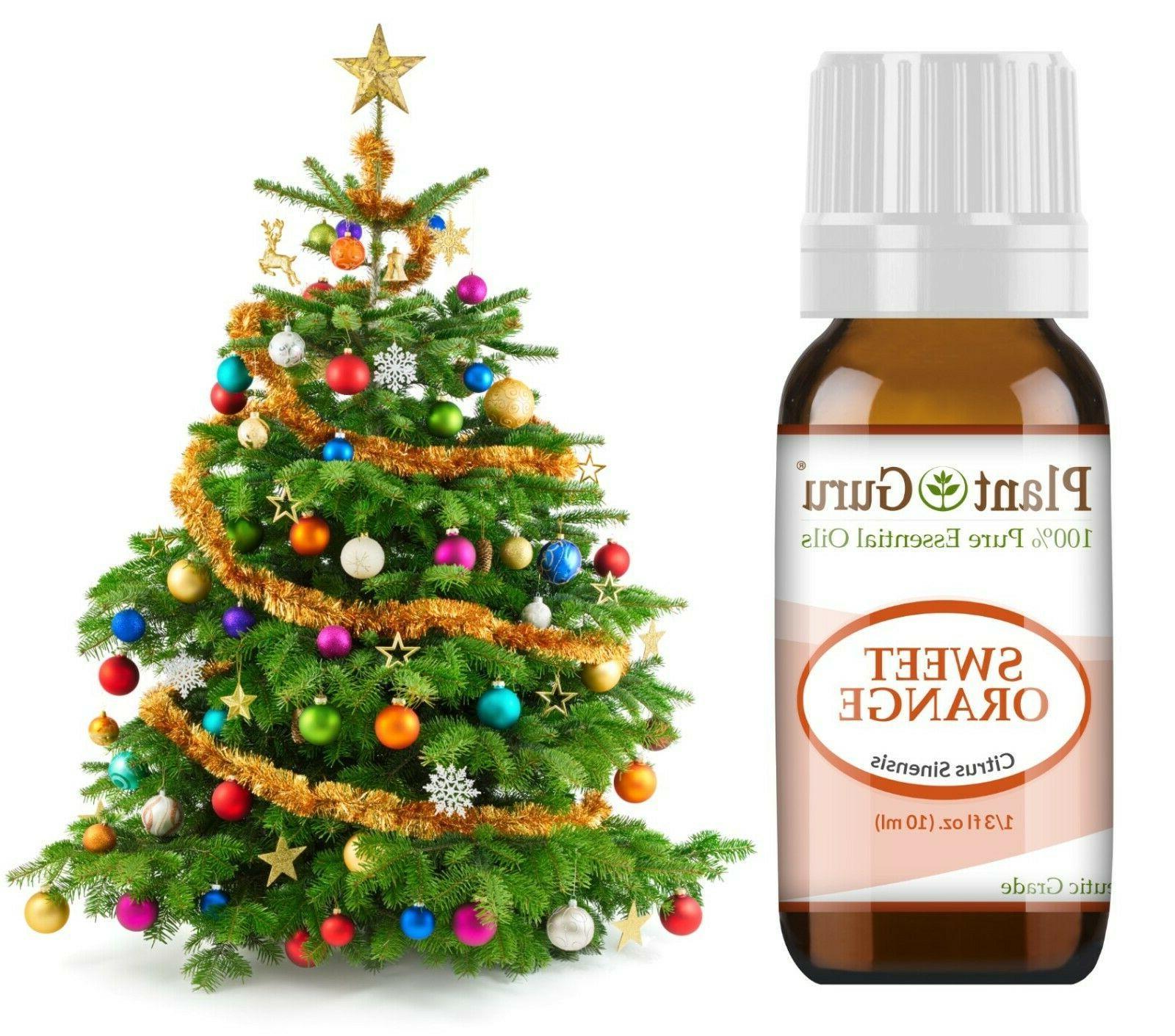 Christmas Holiday Oil Set Aromatherapy Balsam Fir Clove