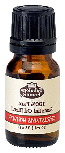 Christmas Wreath Essential Oil Blend 100% Pure, Undiluted Es