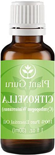 Citronella Essential Oil 1 oz / 30 ml 100% Pure Undiluted Th