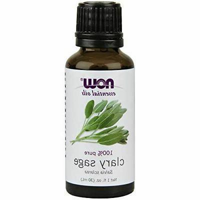 NOW Clary Sage Oil, 1-Ounce