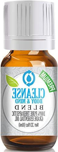 Cleanse Body & Mind Blend 100% Pure, Best Therapeutic Grade