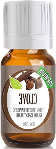 Clove - 100% Pure, Best Therapeutic Grade Essential Oil - 10
