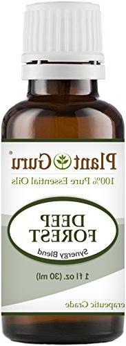 Deep Forest Synergy Essential Oil Blend 1 oz / 30 ml 100% Pu