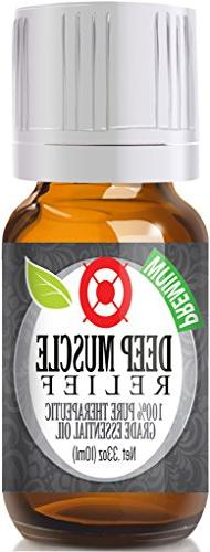 Deep Muscle Relief - 100% Pure, Best Therapeutic Grade Essen